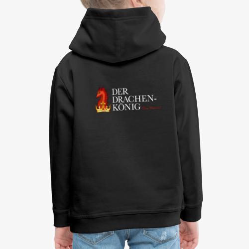 Drachenkönig Logo Schrift - Kinder Premium Hoodie