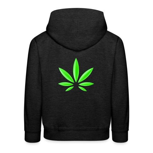T-Shirt Design für Cannabis - Kinder Premium Hoodie