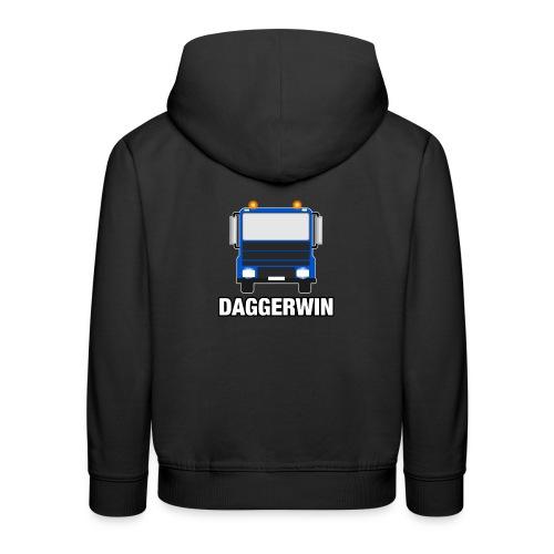 Daggerwin Logo Truck - Kids' Premium Hoodie