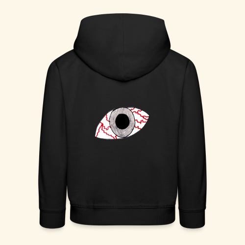 eye - Pull à capuche Premium Enfant