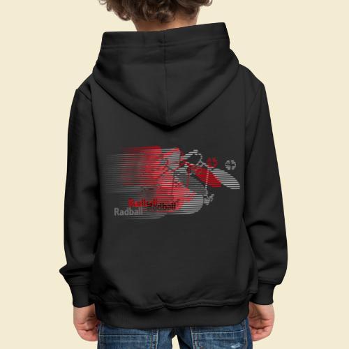 Radball | Earthquake Red - Kinder Premium Hoodie