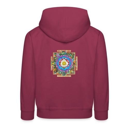 buddhist mandala - Kids' Premium Hoodie
