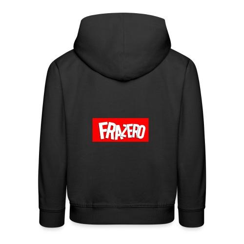 FRAZERO RED BOX DESIGN - Kids' Premium Hoodie