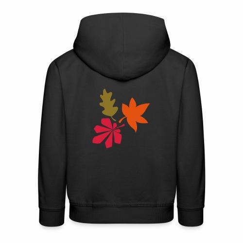 Herbst Blätter - Kinder Premium Hoodie