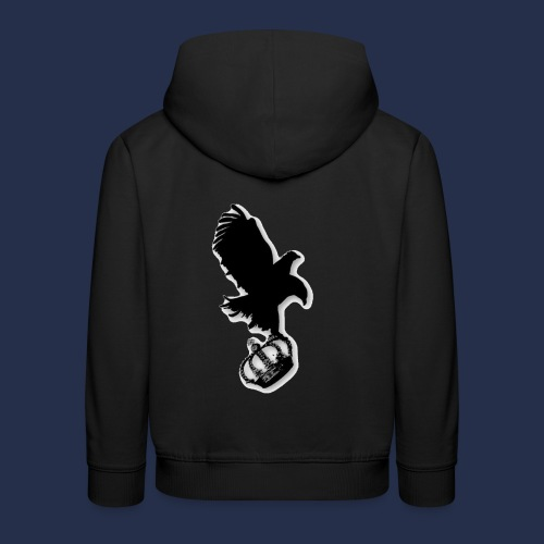 large eagle logo - Kids' Premium Hoodie