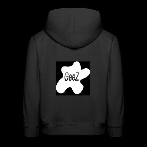 Black/white Art - Kids' Premium Hoodie