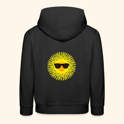 Sol de Canarias - Sudadera con capucha premium niño