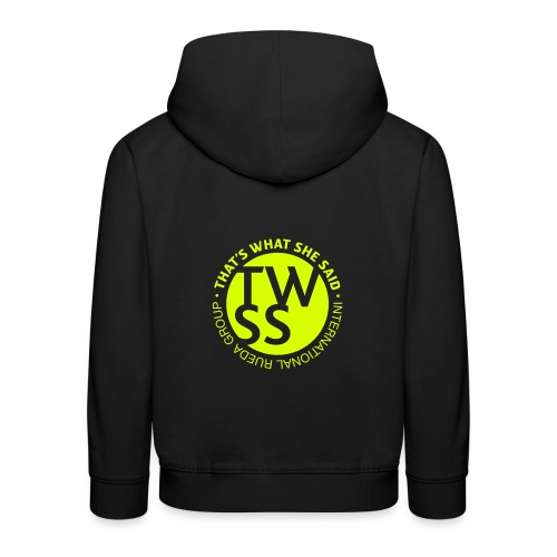 TWSS logo - That's What She Said - International - Kinder Premium Hoodie