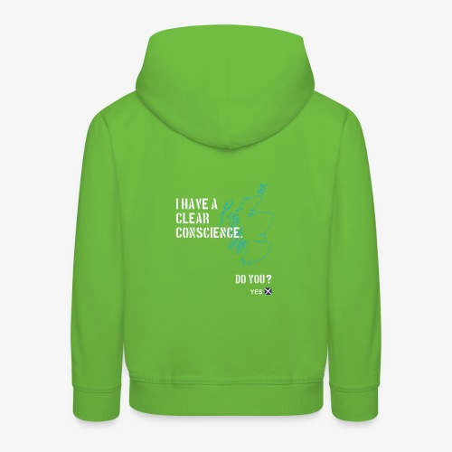 Clear Conscience - Kids' Premium Hoodie
