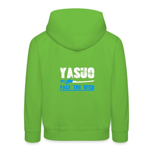 Yasuo Main - Kinder Premium Hoodie