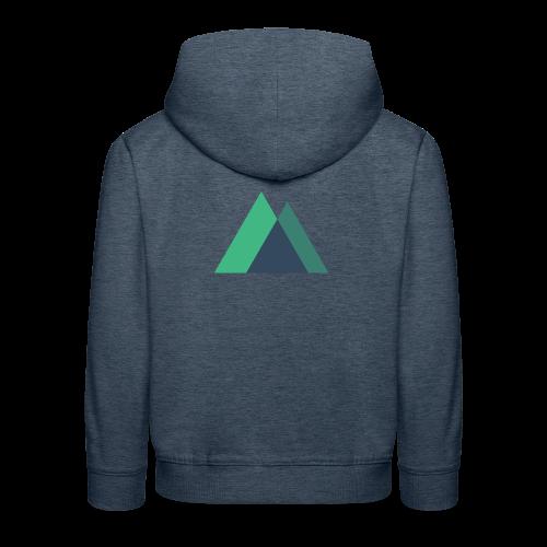 Mountain Logo - Kids' Premium Hoodie
