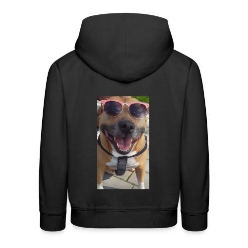 Cool Dog Foxy - Kinderen trui Premium met capuchon