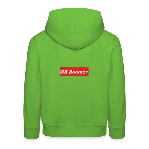 OK Boomer Meme - Kids' Premium Hoodie