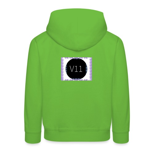 V11's first clothes - Premium-Luvtröja barn