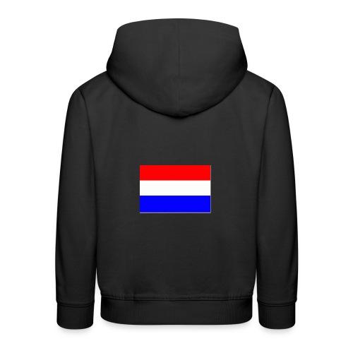 vlag nl - Kinderen trui Premium met capuchon