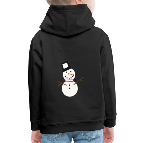 Snowman - Kids' Premium Hoodie