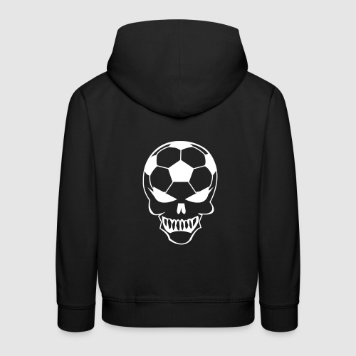Fußball-Totenkopf - Kinder Premium Hoodie