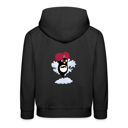 Génie Pingouin - Pull à capuche Premium Enfant