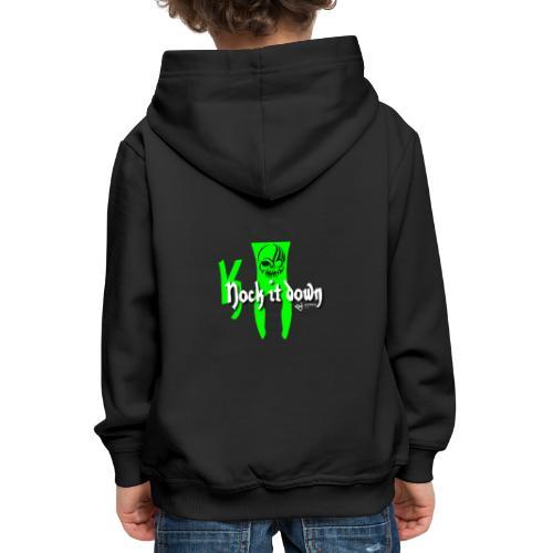 Nock it down - Kinder Premium Hoodie