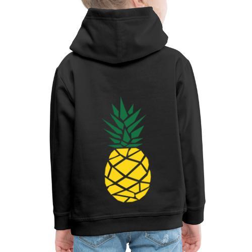 Pineapple - Kinderen trui Premium met capuchon