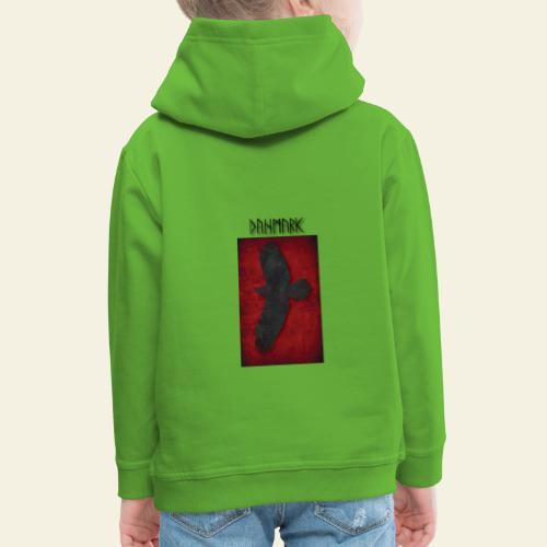 ravnefanen - Premium hættetrøje til børn