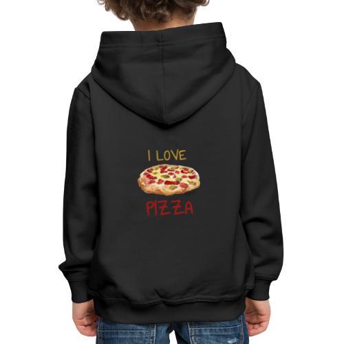 I love Pizza - Kinder Premium Hoodie