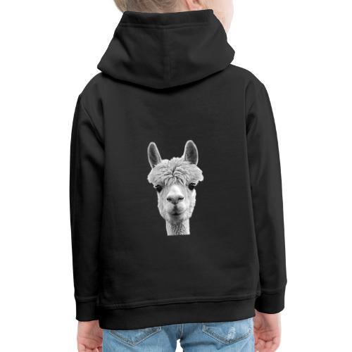 Alpaka Lama Kamel Peru Anden Südamerika Wolle - Kinder Premium Hoodie