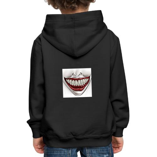 Smile Maske - Kinder Premium Hoodie
