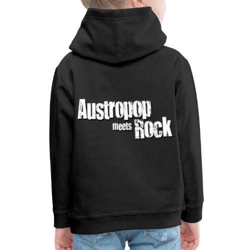 Austropop meets Rock classic back - Kinder Premium Hoodie