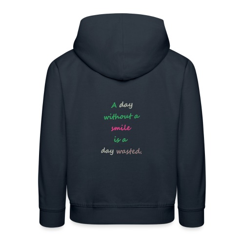 Say in English with effect - Kids' Premium Hoodie