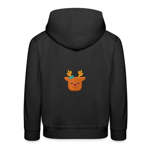 When Deers Smile by EmilyLife® - Kids' Premium Hoodie