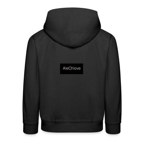 Name AleChiove - Felpa con cappuccio Premium per bambini