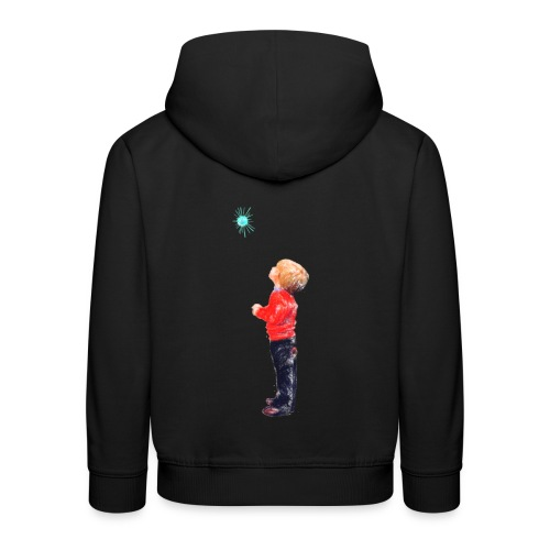 The Boy and the Blue - Kids' Premium Hoodie
