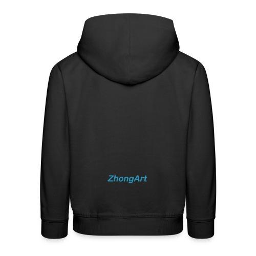 ZhongArt - Pull à capuche Premium Enfant