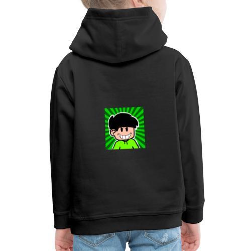 Linus e lite mindre glad - Premium-Luvtröja barn