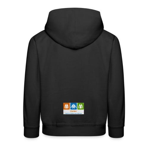 IMG 3596 - Premium hættetrøje til børn