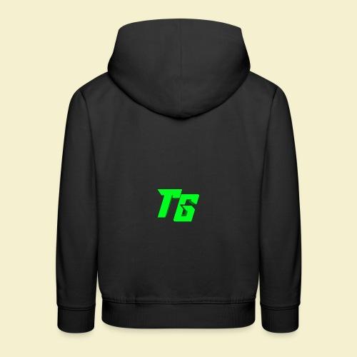 TristanGames logo merchandise - Kinderen trui Premium met capuchon