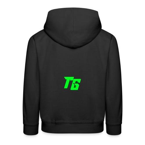 Tristan Jeux marchandises logo - Pull à capuche Premium Enfant
