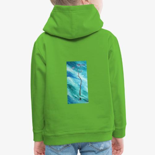 Drzewo spokoju - Bluza dziecięca z kapturem Premium