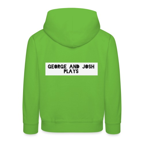 George-and-Josh-Plays-Merch - Kids' Premium Hoodie