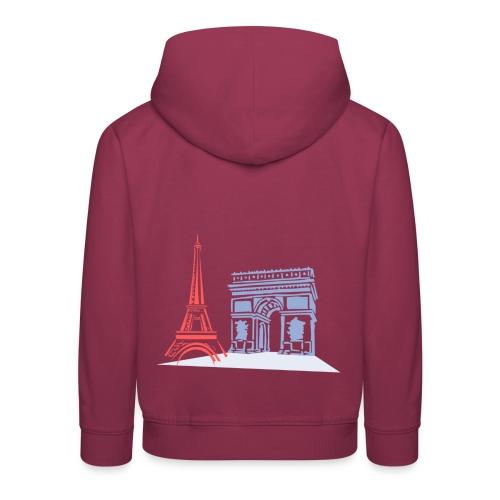 Paris - Pull à capuche Premium Enfant