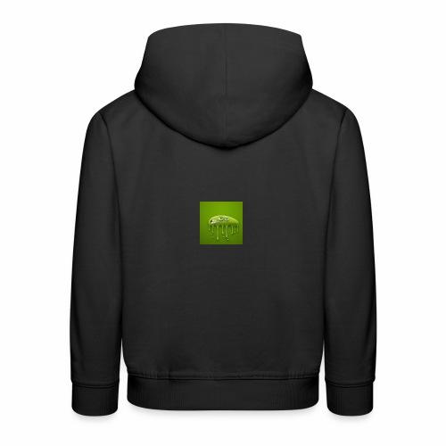 Raksos Logo - Premium hættetrøje til børn
