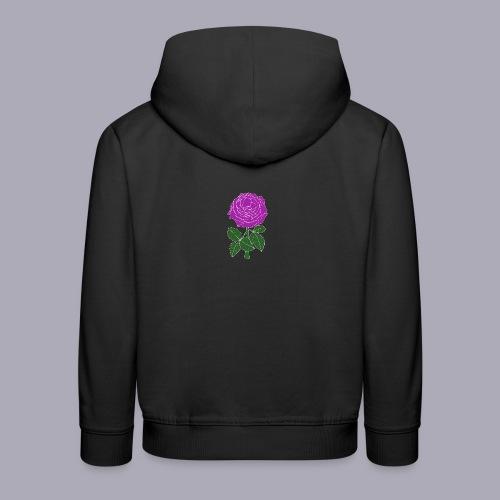 Landryn Design - Pink rose - Kids' Premium Hoodie