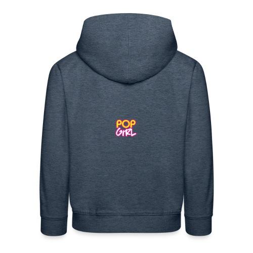 Pop Girl logo - Kids' Premium Hoodie