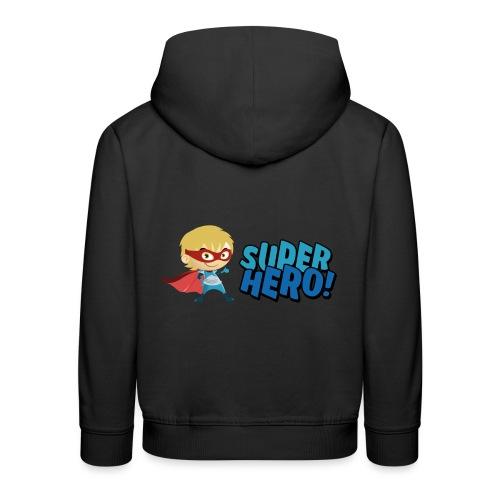 Super Hero - Pull à capuche Premium Enfant