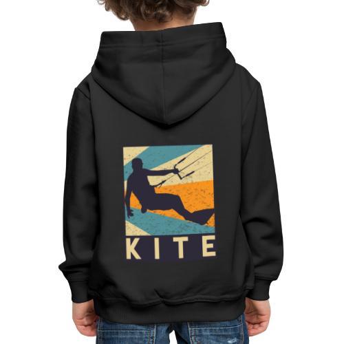 Kitesurfen - Kinder Premium Hoodie