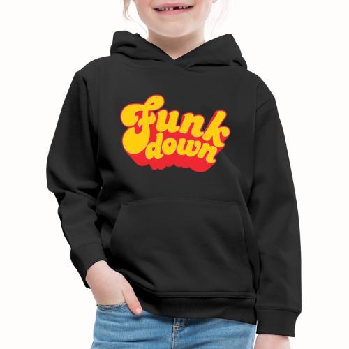 Funkdown Official Merchandise - Premium hættetrøje til børn