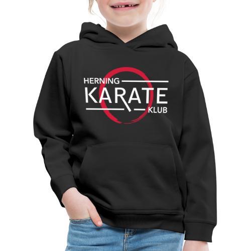HKK Dobbelt tryk - Premium hættetrøje til børn