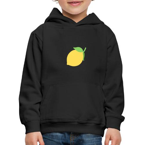sitrónin - Premium hættetrøje til børn