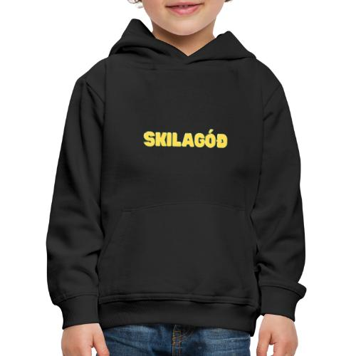 skilagóð - Premium hættetrøje til børn